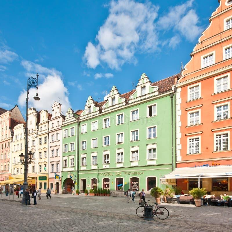 Market Square - main square in Wroclaw, Poland