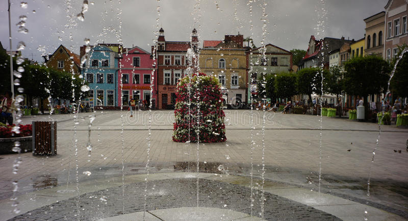 Market square royalty free stock photography