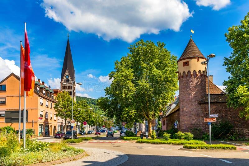 Architecture Of Ettlingen. Ettlingen, Baden-Wurttemberg