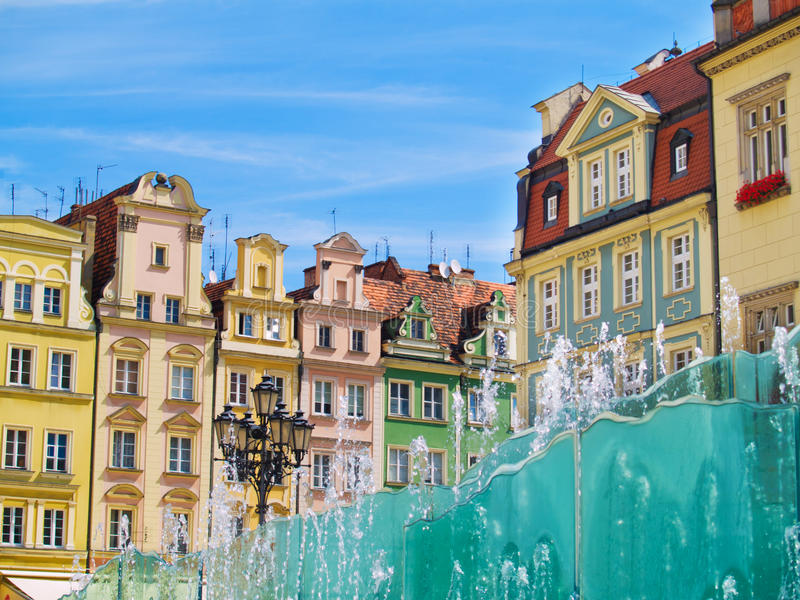 Market Square, Wroclaw, Poland Royalty Free Stock Photography