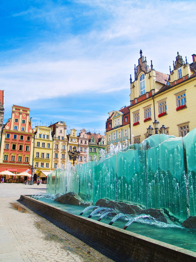Download Market Square, Wroclaw, Poland Stock Photo - Image: 20568654