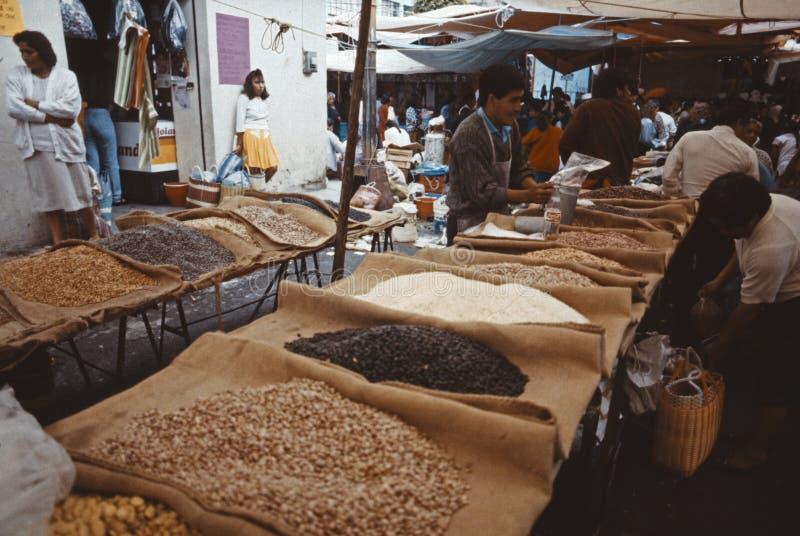 Market stall Mexico City royalty free stock photography