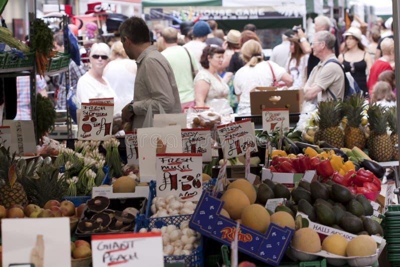 Market at street fair. stock images