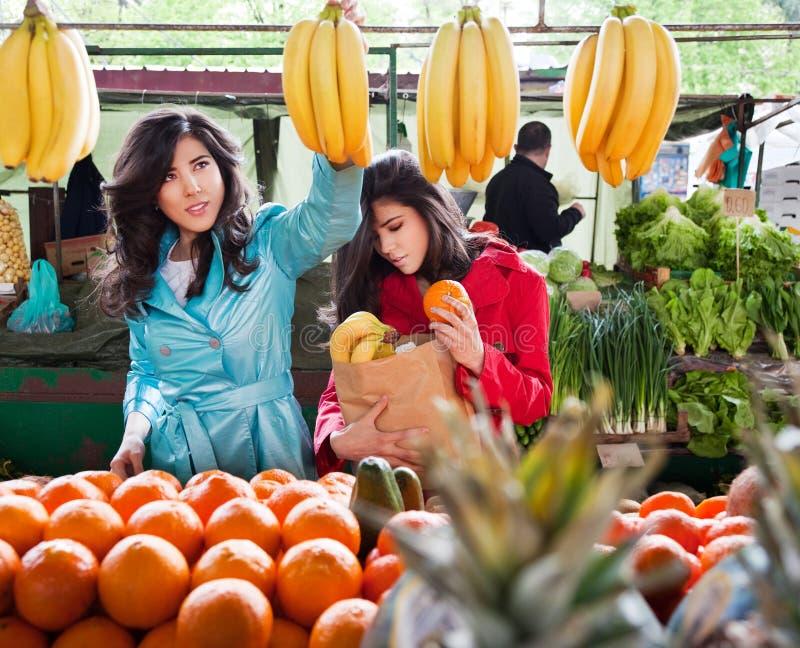 Market vegetables fruits stock photography