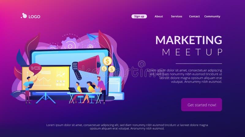 Meetup Concept Stock Illustrations – 44 Meetup Concept Stock