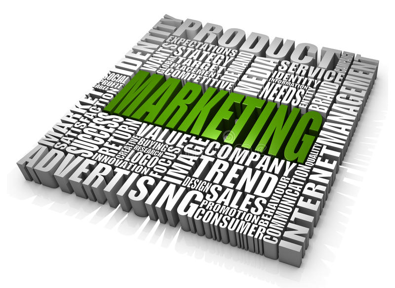 Marketing lizenzfreie abbildung
