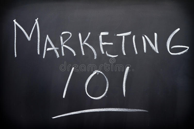 Marketing stockfoto