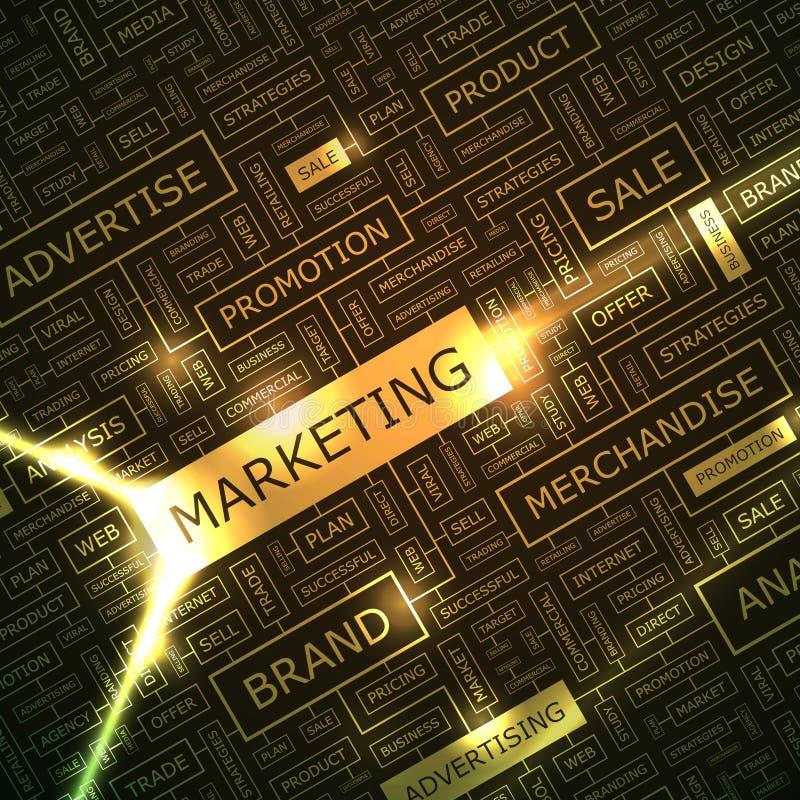 Marketing stock abbildung