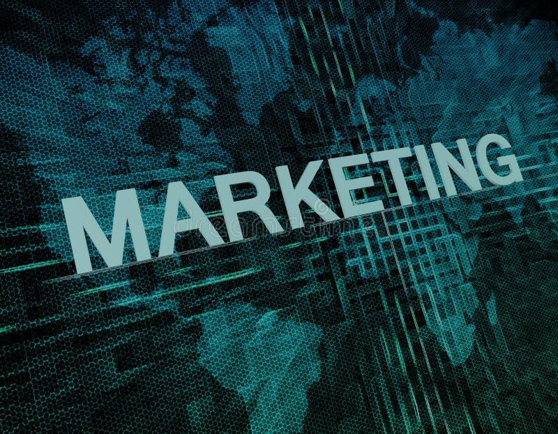 marketing stock illustratie