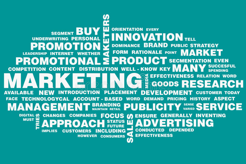 marketing vector illustratie