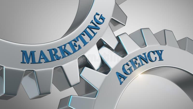 Marketing agentschapconcept royalty-vrije illustratie