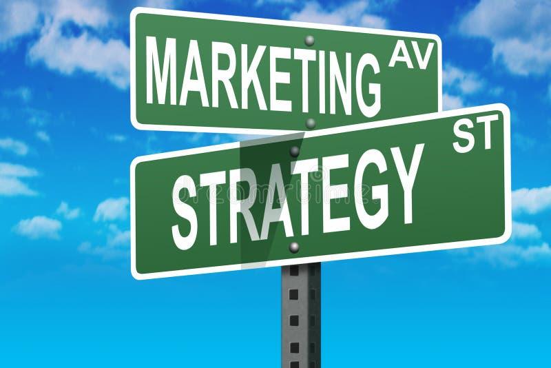 Marketing business sales royalty free illustration
