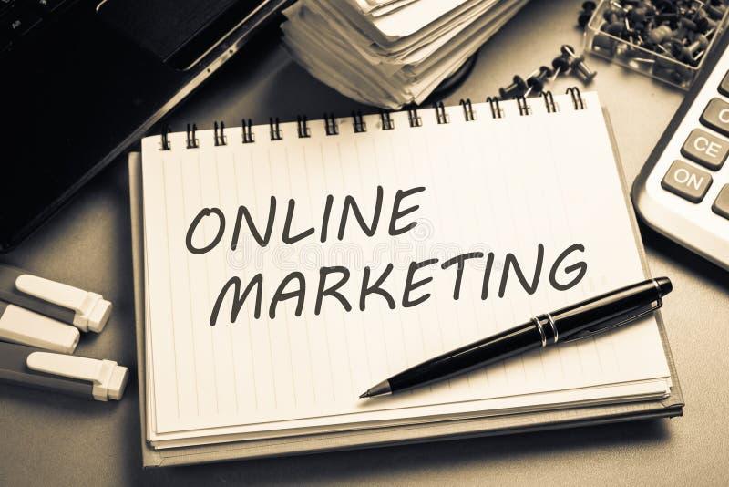 Marketing en ligne photos libres de droits