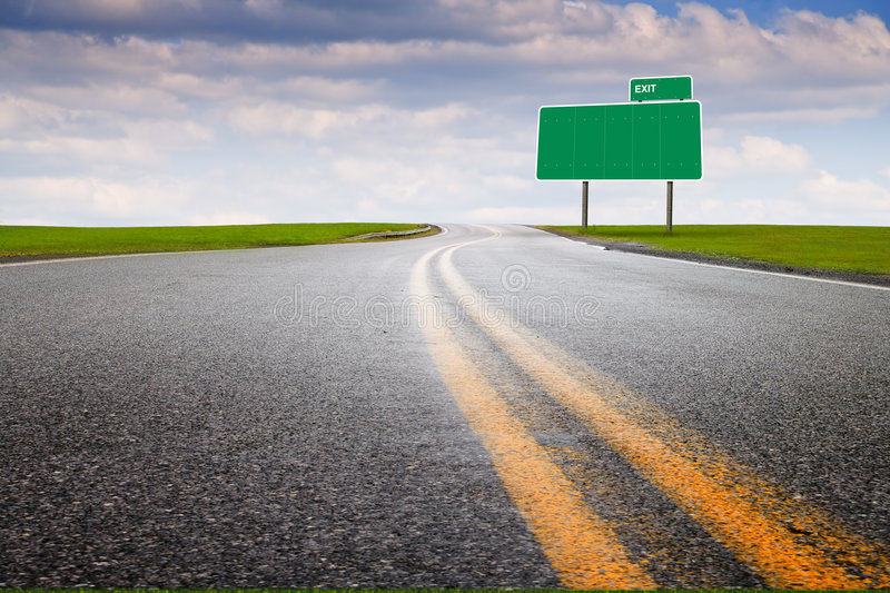 Download Marketing highway #1 stock photo. Image of blue, journey - 5051262