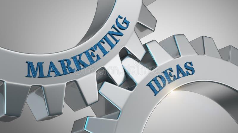 Marketing ideeënconcept stock illustratie