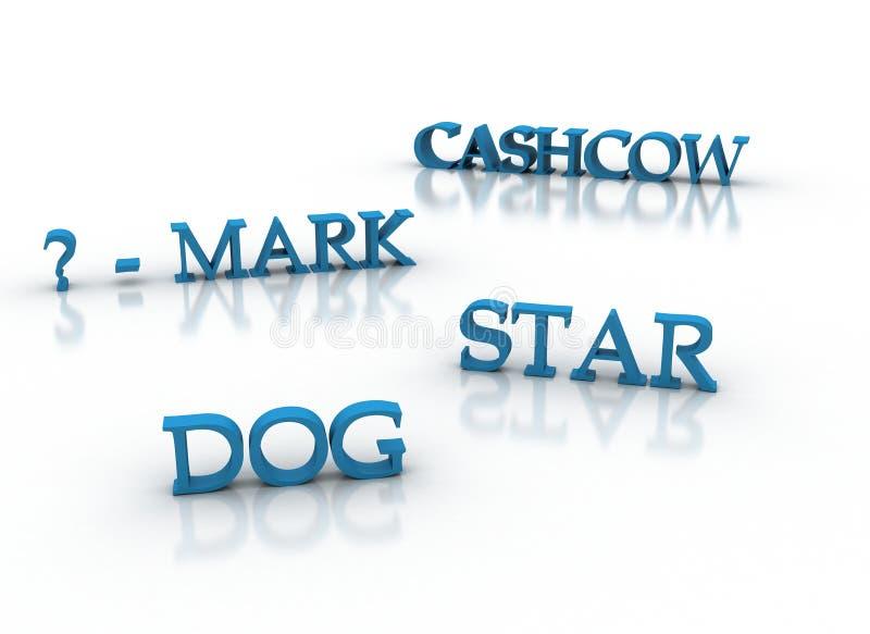 Download Marketing Model 3d Keywords In Blue Stock Illustration - Image: 16477014