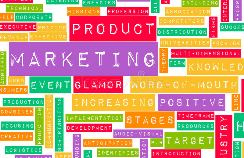Marketing Plan royalty free stock photography
