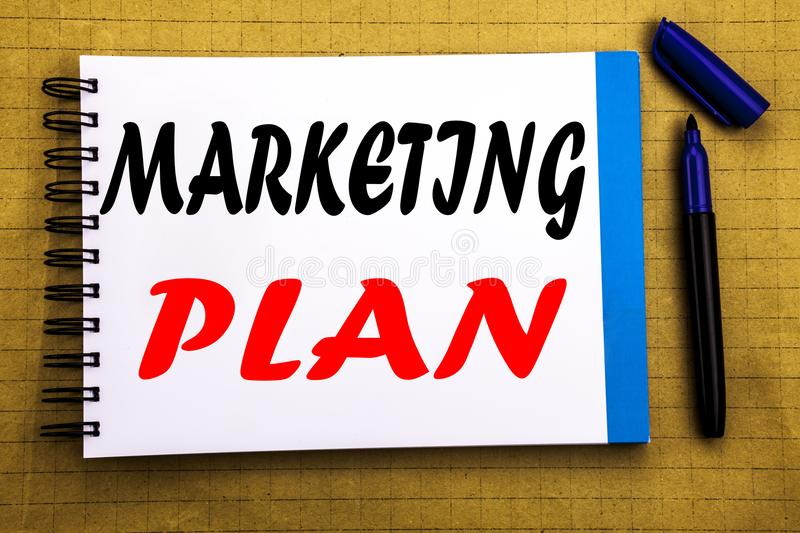 Marketing Plan. Business concept for Planning Successful Strategy Written on notepad note paper background with space office view royalty free stock photos