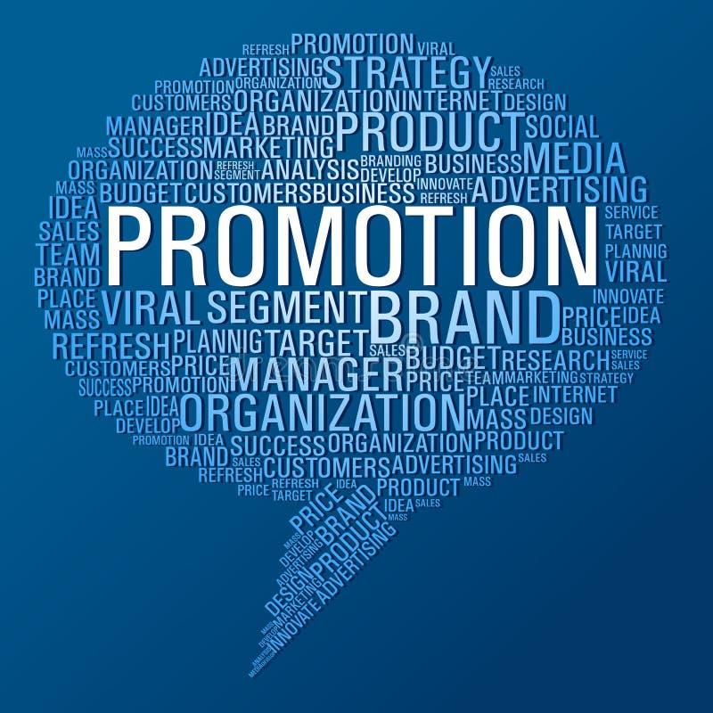 Marketing promotion speech bubble vector illustration