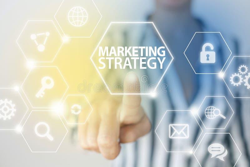 Marketing Strategie stock fotografie