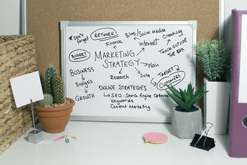 Marketing Strategie stock foto