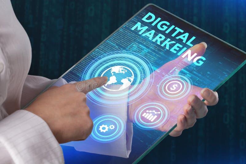 Marketing Strategie Het concept van de planningsstrategie Bedrijfstechnolo royalty-vrije stock afbeeldingen