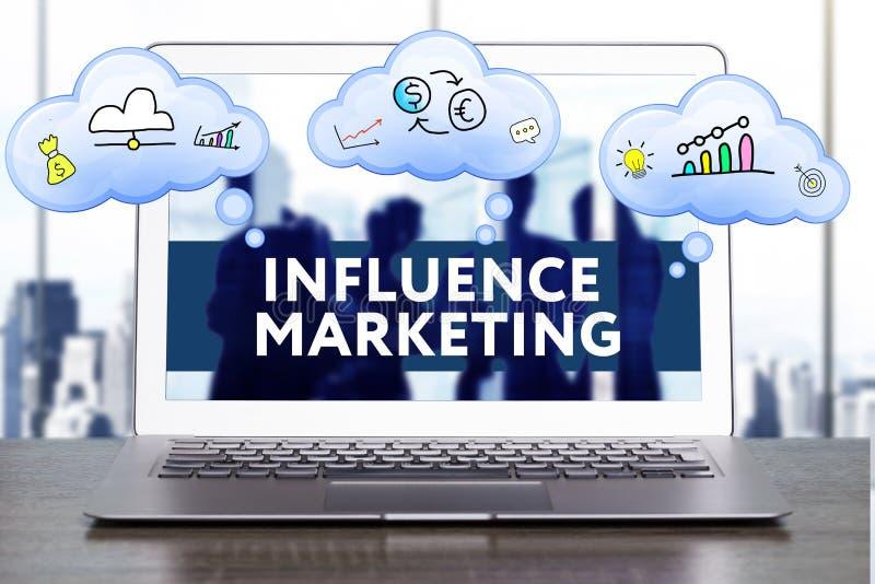 Marketing Strategie Het concept van de planningsstrategie Zaken, technologie stock foto