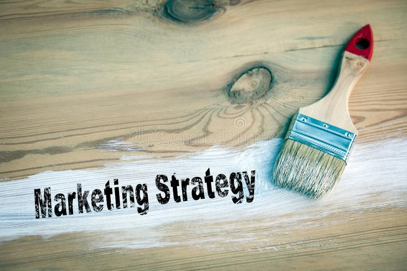 Marketing Strategy Business concept stock images