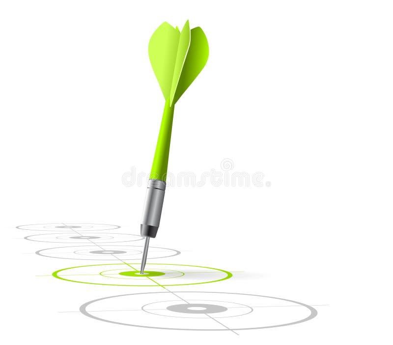 Marketing strategy symbol royalty free illustration