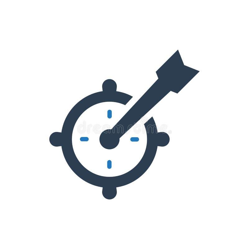 Marketing target icon vector illustration
