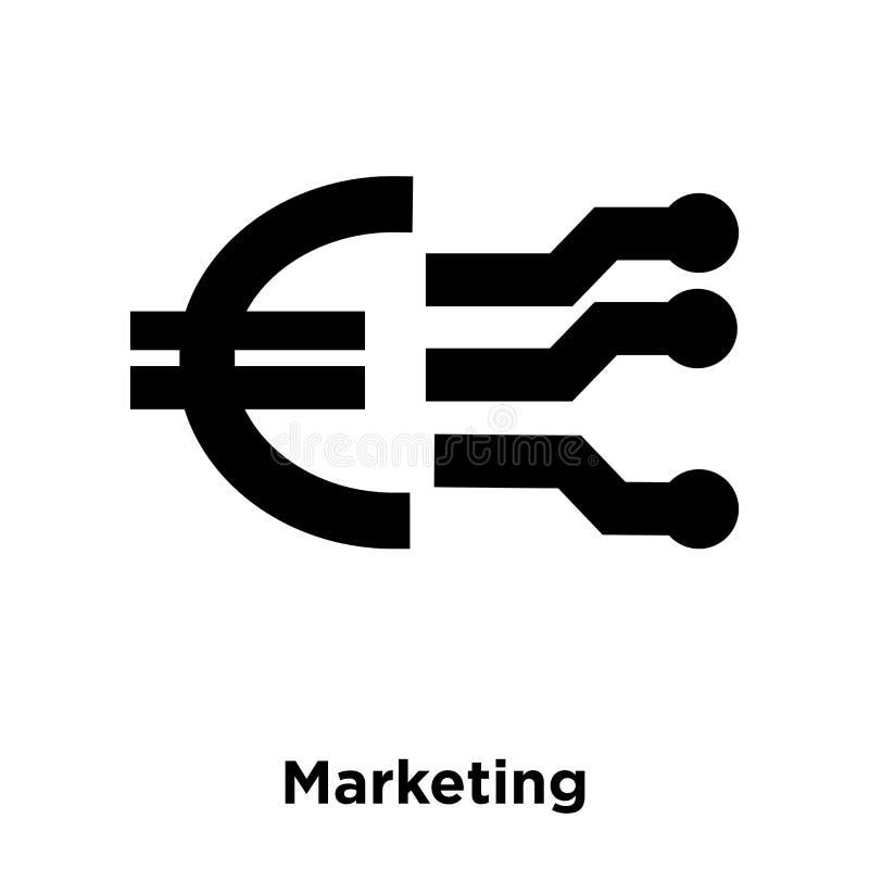 Marketingowy ikona wektor odizolowywający na białym tle, loga pojęcie royalty ilustracja