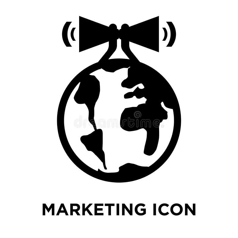 Marketingowy ikona wektor odizolowywający na białym tle, loga pojęcie ilustracja wektor