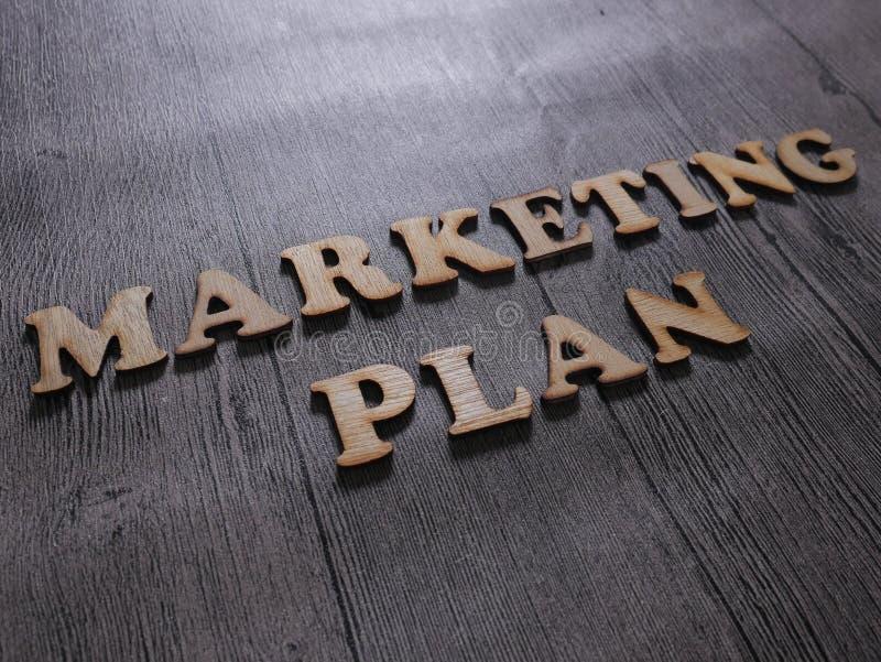Marketingowy plan, Biznesowy Motywacyjny słowo wycen pojęcie fotografia stock