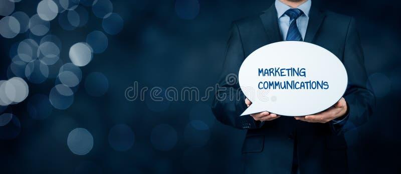 Marketingowych komunikacj pojęcie obraz stock