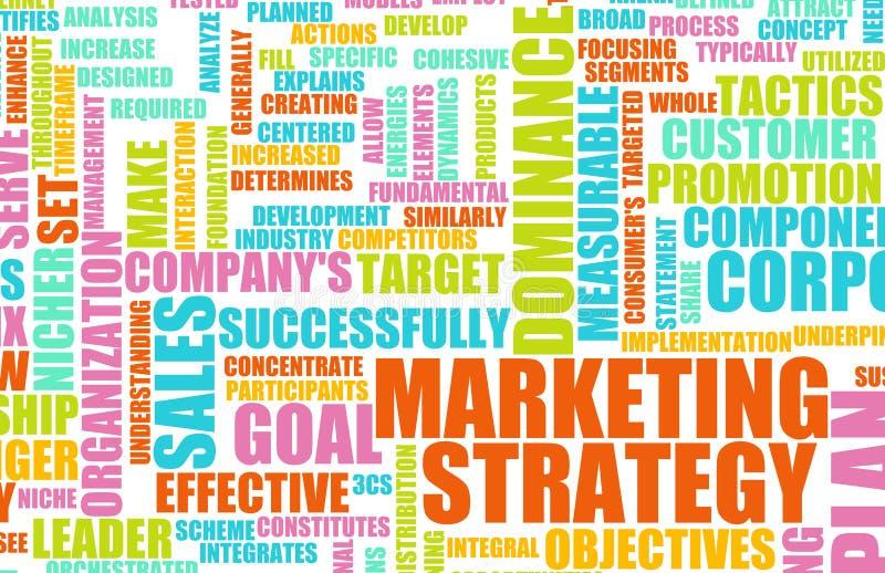 Marketingstrategie vektor abbildung