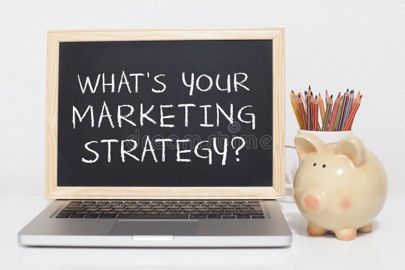 Marketingstrategie lizenzfreie stockfotos
