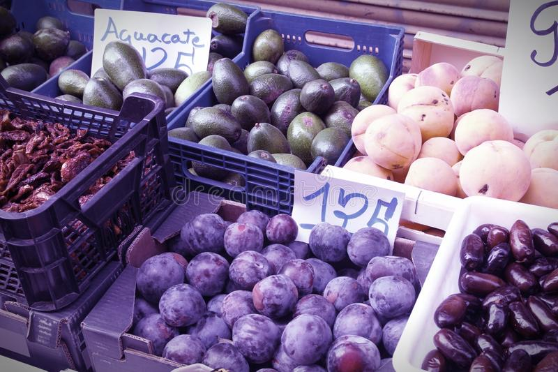 Marketplace in Spain royalty free stock photography