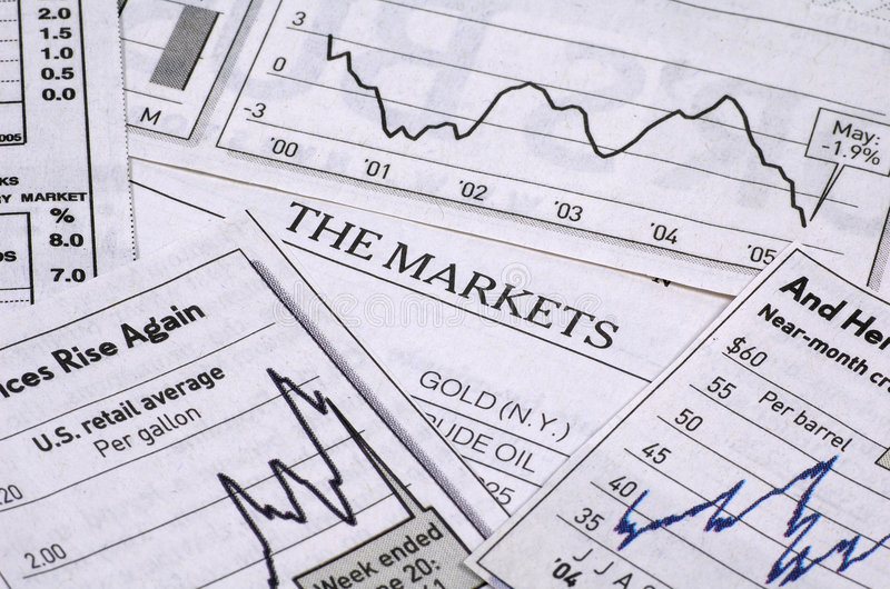 The Markets stock image