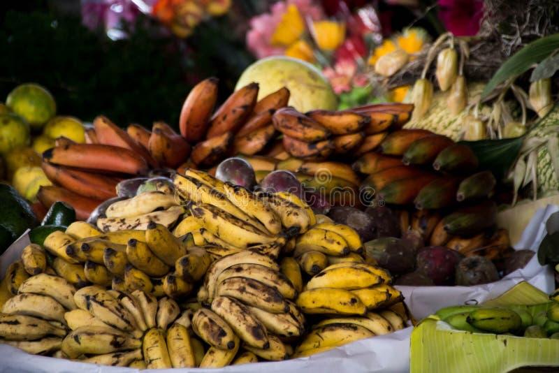 Markets of Antigua royalty free stock photo