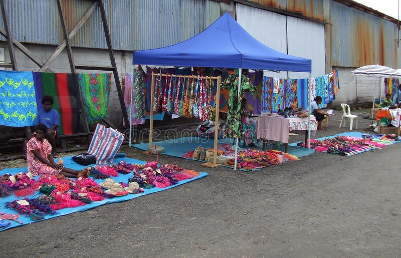 Markets. Stunning coloured crafts for sale at the market royalty free stock photography