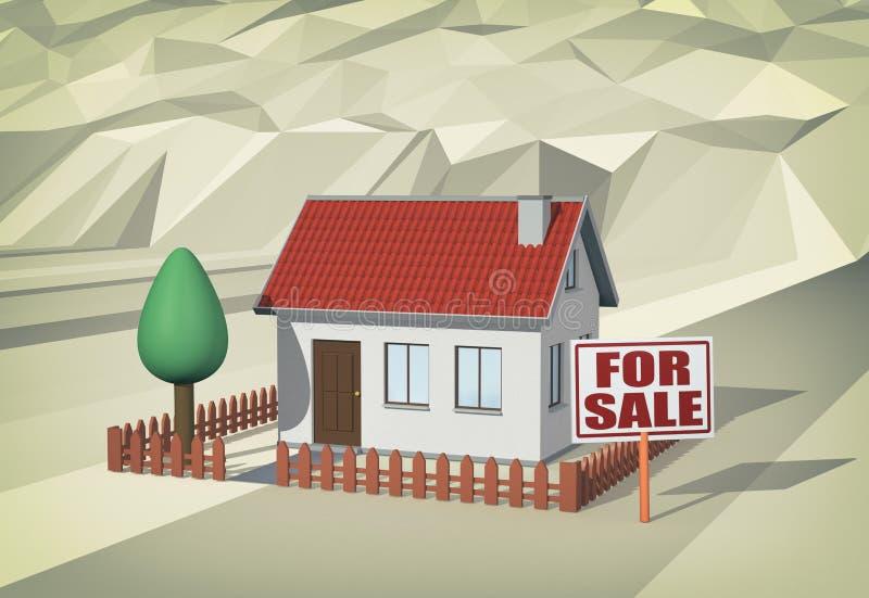 Markey ακίνητων περιουσιών, έννοια ελεύθερη απεικόνιση δικαιώματος