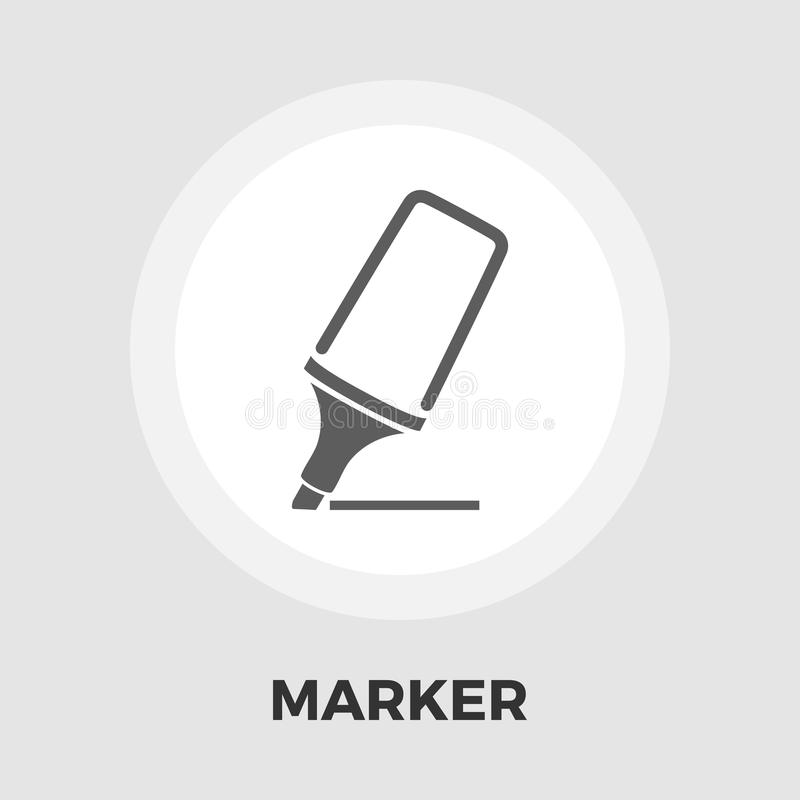 Markier ikony mieszkanie royalty ilustracja