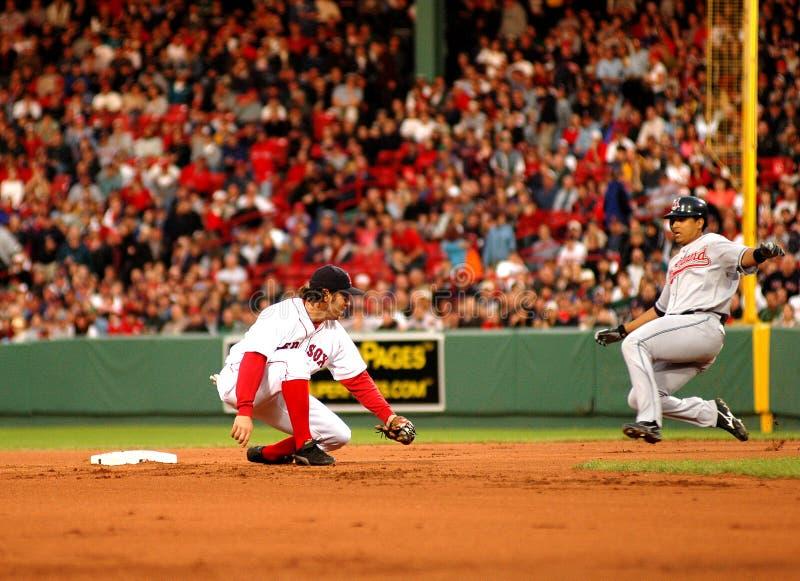 Markieren Sie Bellhorn Boston Red Sox stockfoto