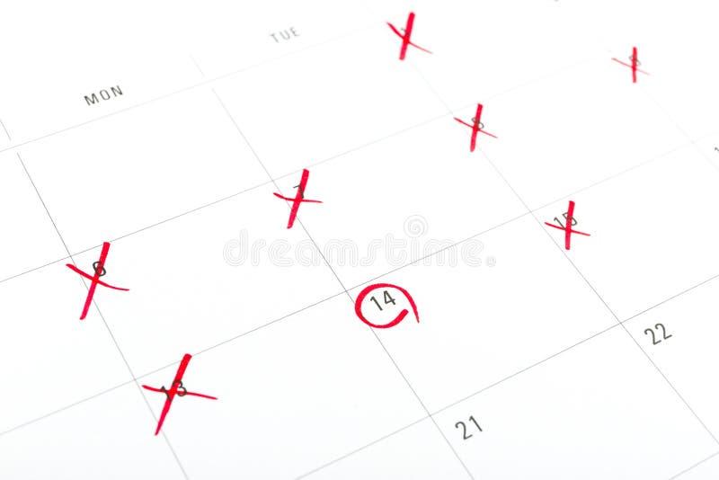 Download Markieren Sie Ihr Datum Am Valentinstag Der Kalender, Markierung  Am 14. Februar Liebesplan