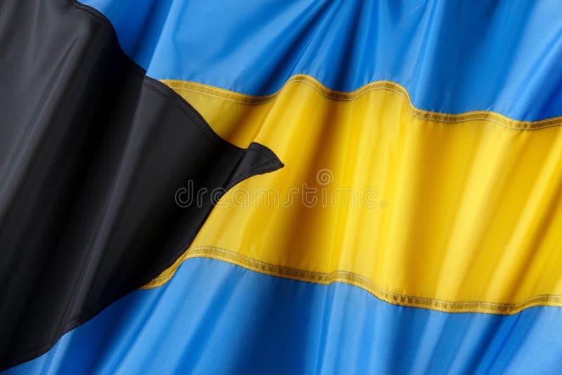 Markierungsfahne der Bahamas stockfoto