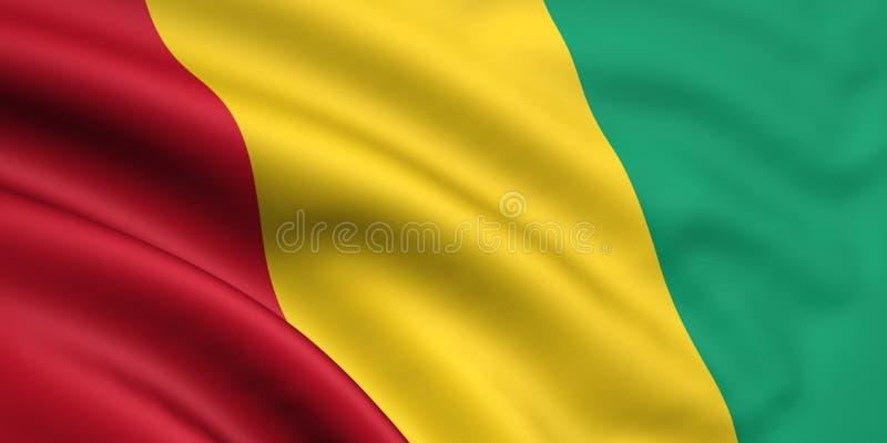 Markierungsfahne der Guine stockfoto