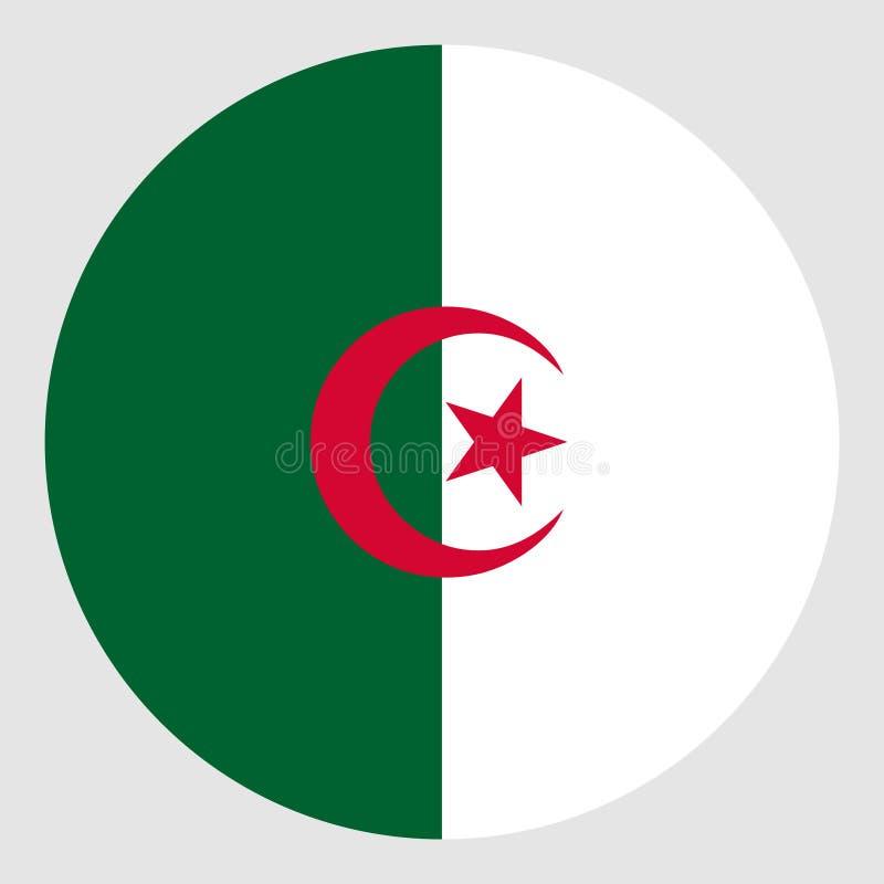 Markierungsfahne von Algerien stockbilder