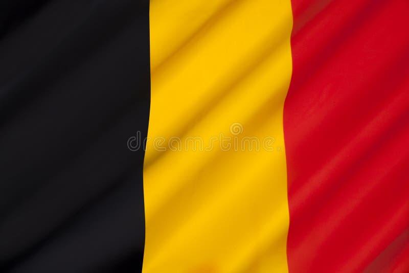 Markierungsfahne von Belgien stockbild