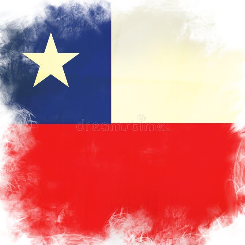 Markierungsfahne von Chile vektor abbildung