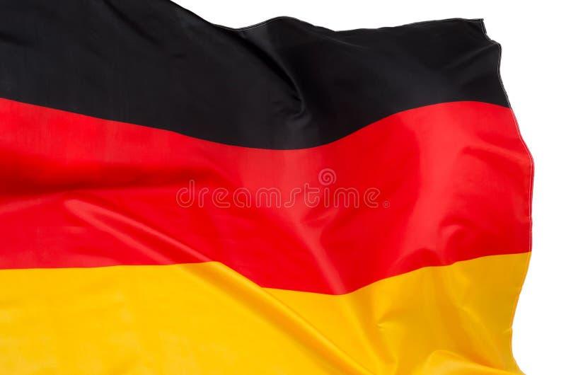 Markierungsfahne von Deutschland lizenzfreie stockfotografie